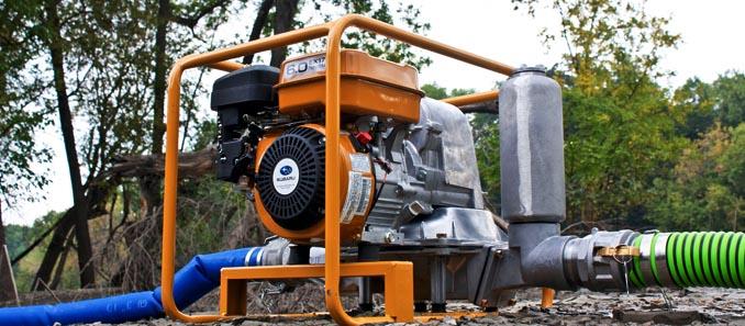 Мотопомпы Robin Subaru для чистой воды
